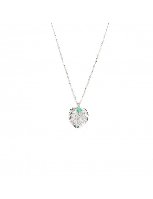Fern silver necklace - Pomme Cannelle