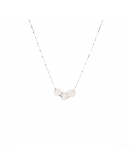 Pastilles silver necklace - Zag Bijoux