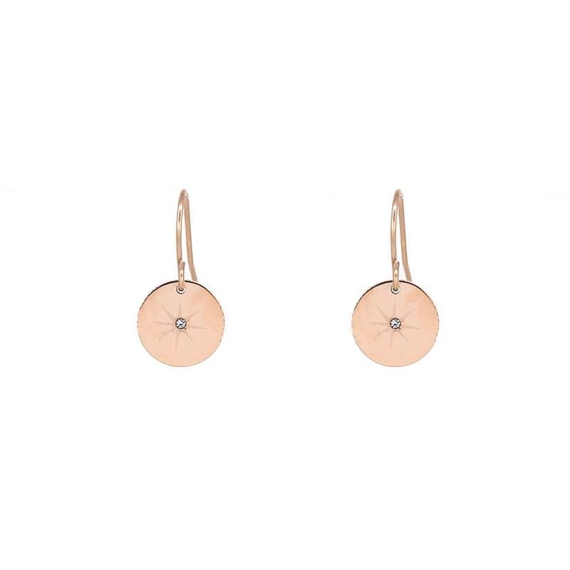 Pastilles stars rose gold earring - Zag Bijoux