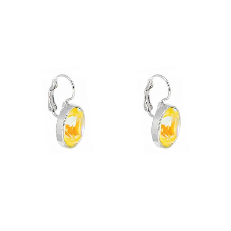 Boucles d'oreilles ovales sunshine delight - Bohm