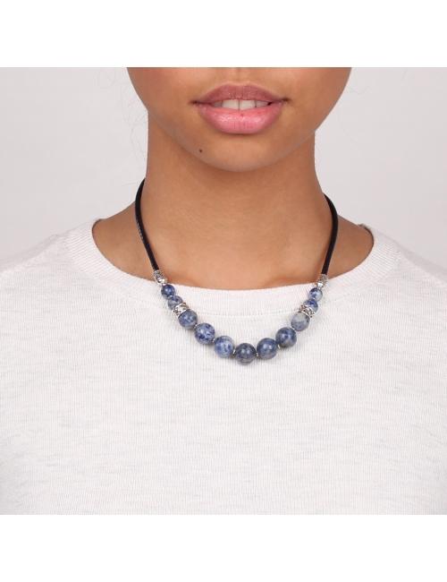 Collier dégradé de perles Cyclade - Nature Bijoux