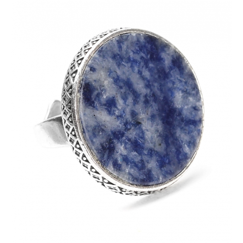 Cyclade silver ring -...