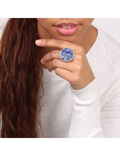 Cyclade silver ring - Nature Bijoux