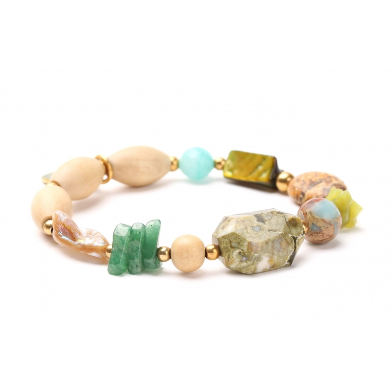 Bracelet extensible Danube - Nature Bijoux