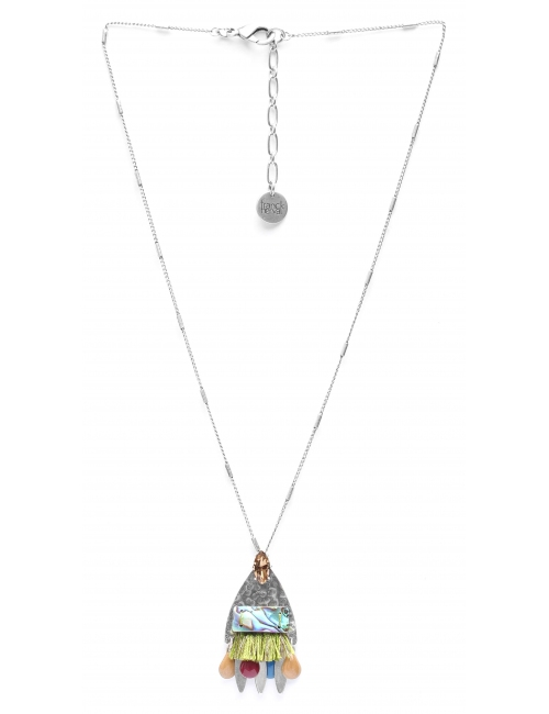 """"""" Y """" Abby silver necklace - Franck Herval"""