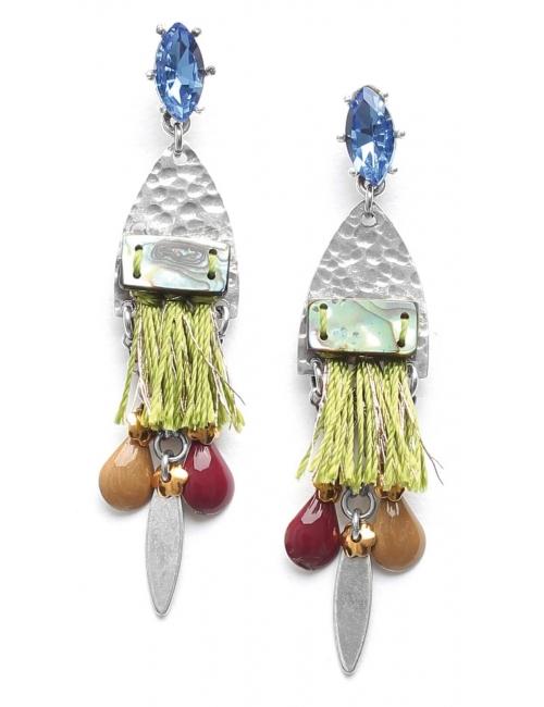Abby silver earrings - Franck Herval