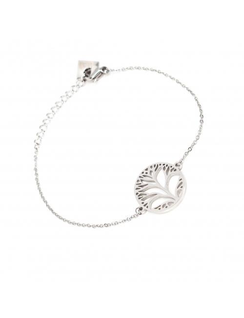 Tree of life silver bracelet - Zag Bijoux