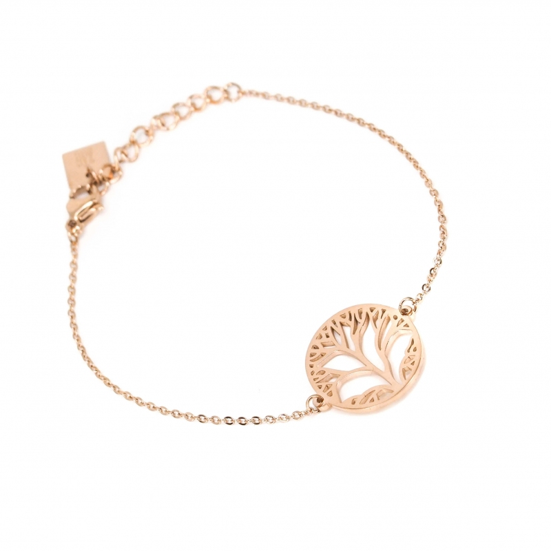 Tree of life rose gold...