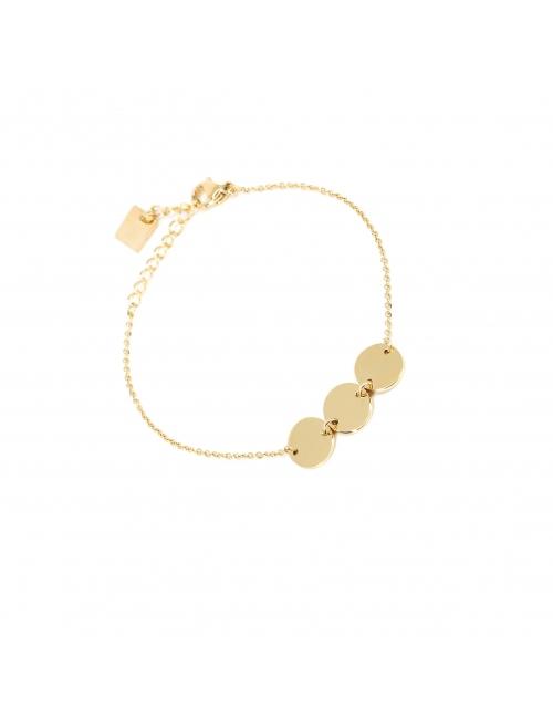 Pastilles gold bracelet - Zag Bijoux