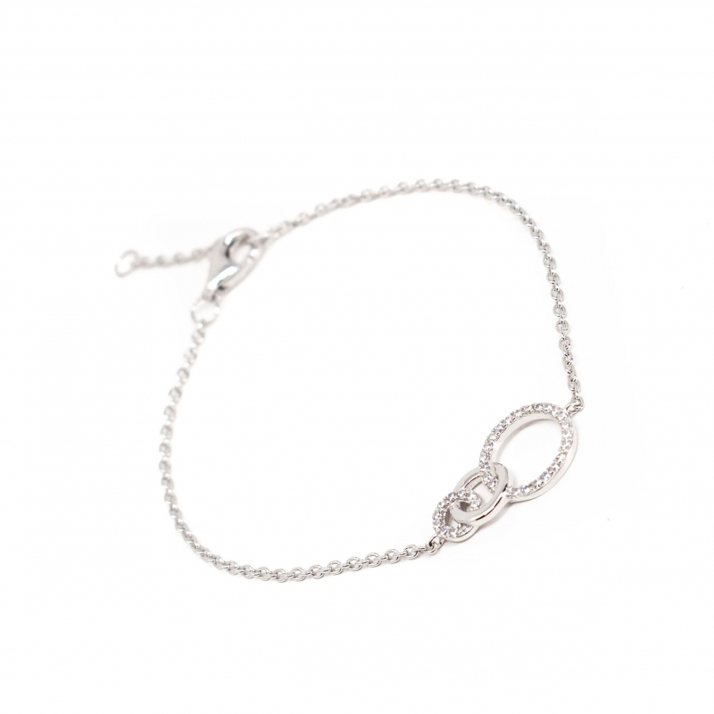 Olympe silver bracelet -...