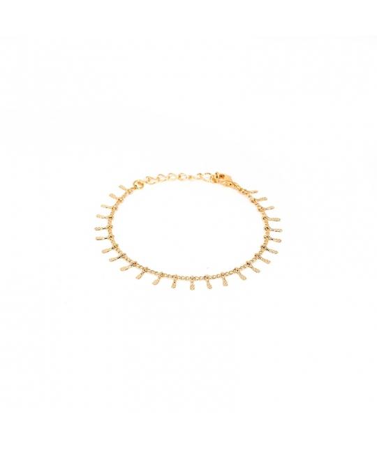Bracelet mini épis en plaqué or - Pomme Cannelle - Pomme Cannelle