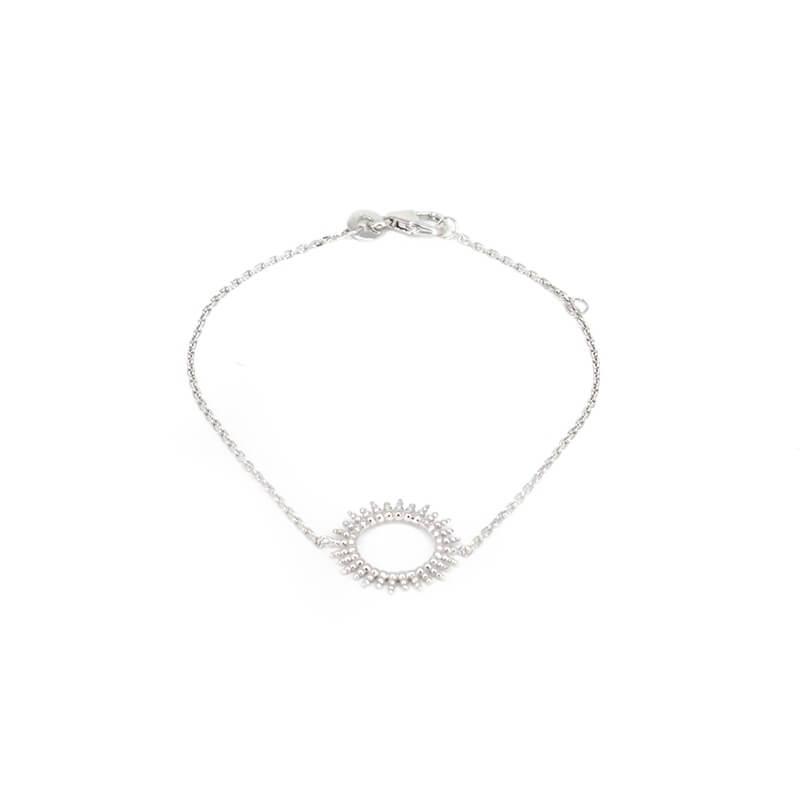 Sun silver bracelet - Pomme...