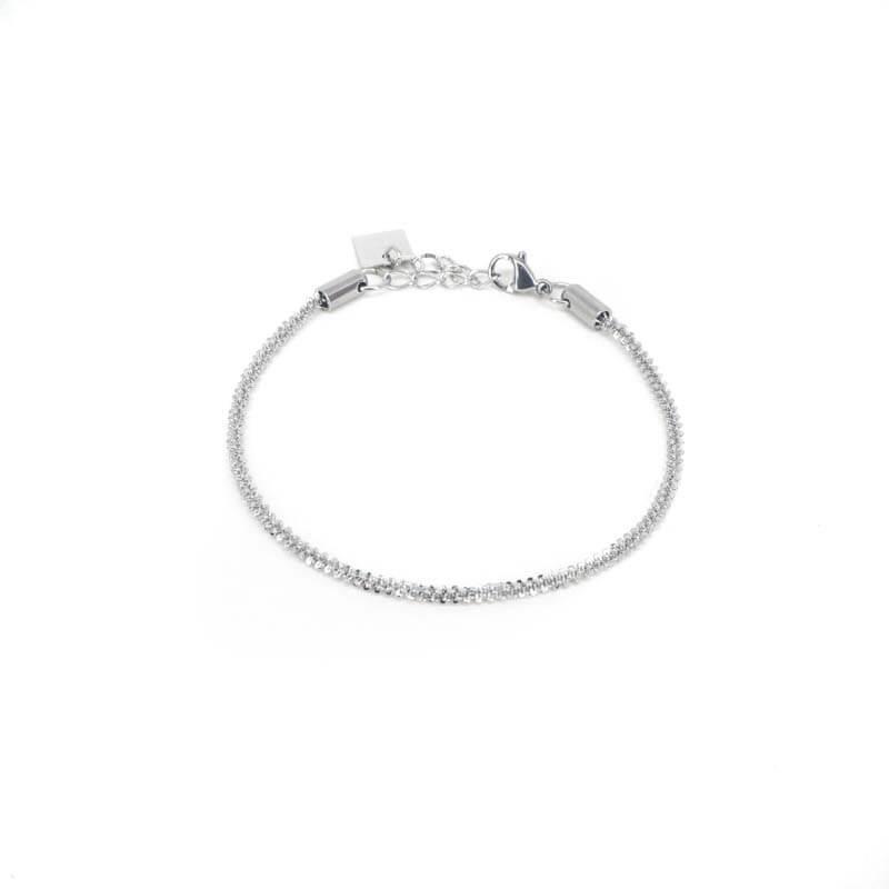 Bracelet torsade en acier - Zag Bijoux