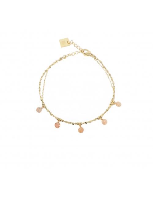 Heliolite pearls gold...