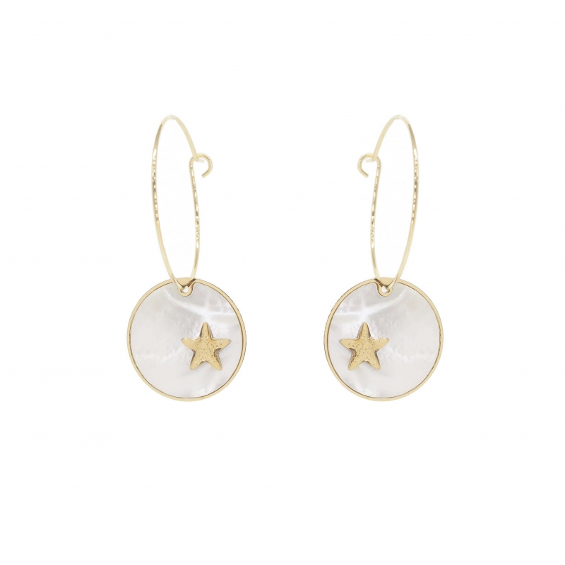 Pearly star pastille gold...