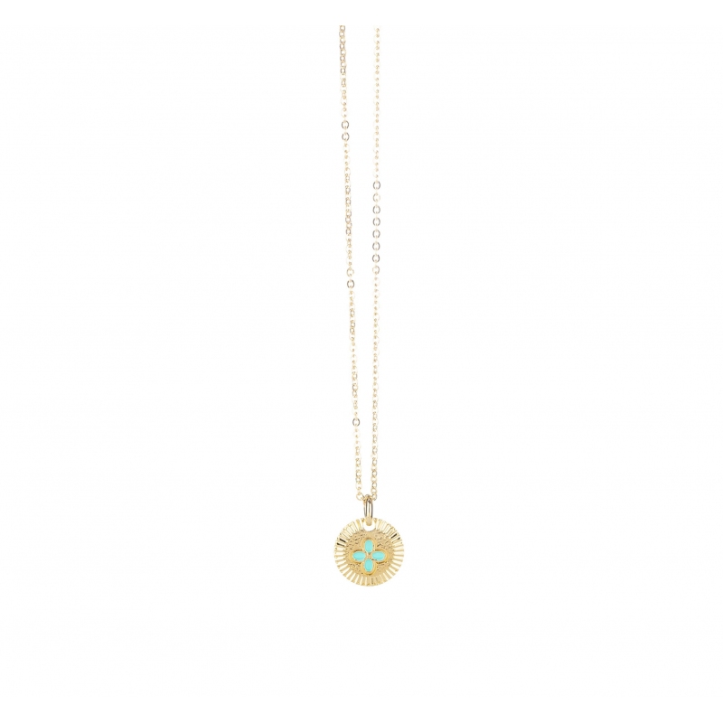 Collier choker chance en plaqué or - Lovely Day
