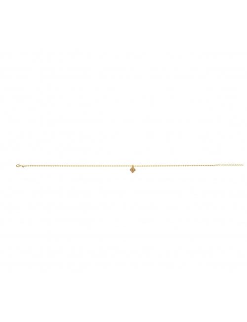 Clover gold choker necklace - Lovely Day