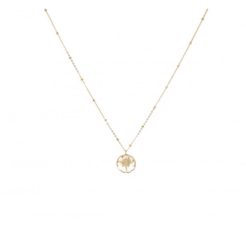 Chrystal gold necklace - Shyloh Paris