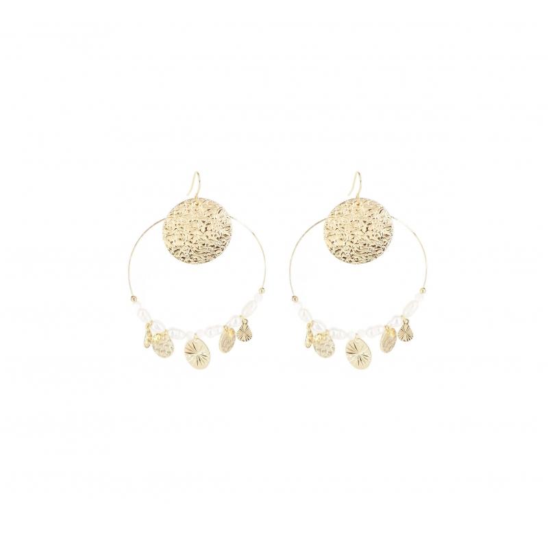 Perla gold earrings - Shyloh Paris