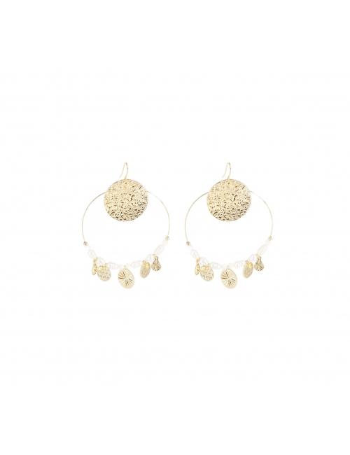 Boucles d'oreilles perla en...