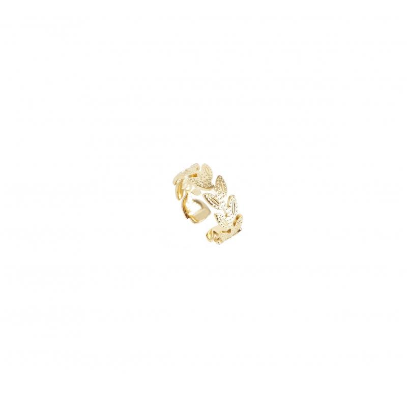 Alea ears gold ring -...