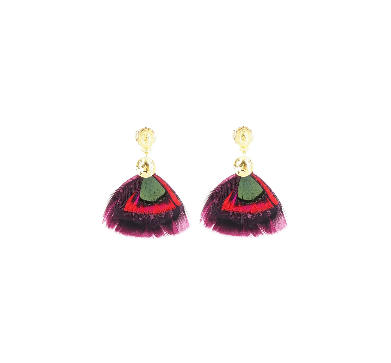 Boucles d'oreilles Bermudes or - Gas Bijoux