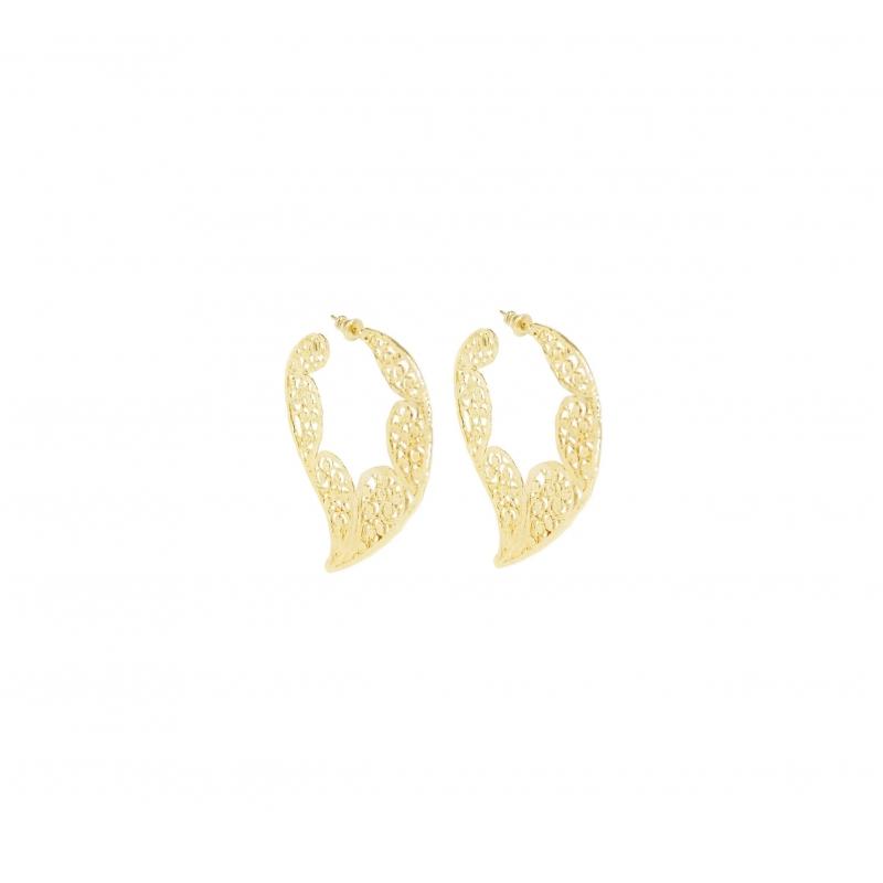 Boucles d'oreilles Paule or...