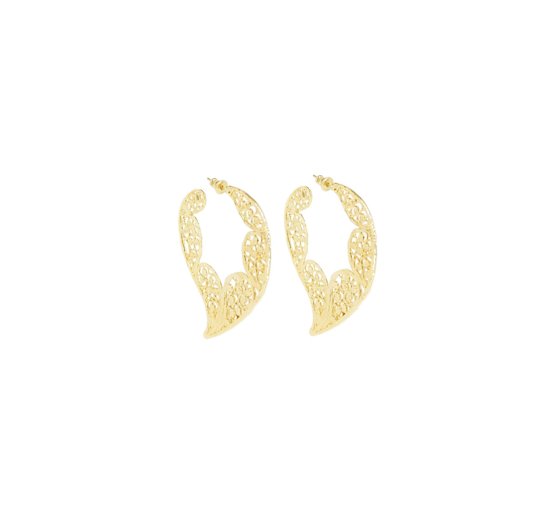 Boucles d'oreilles Paule or - Gas Bijoux