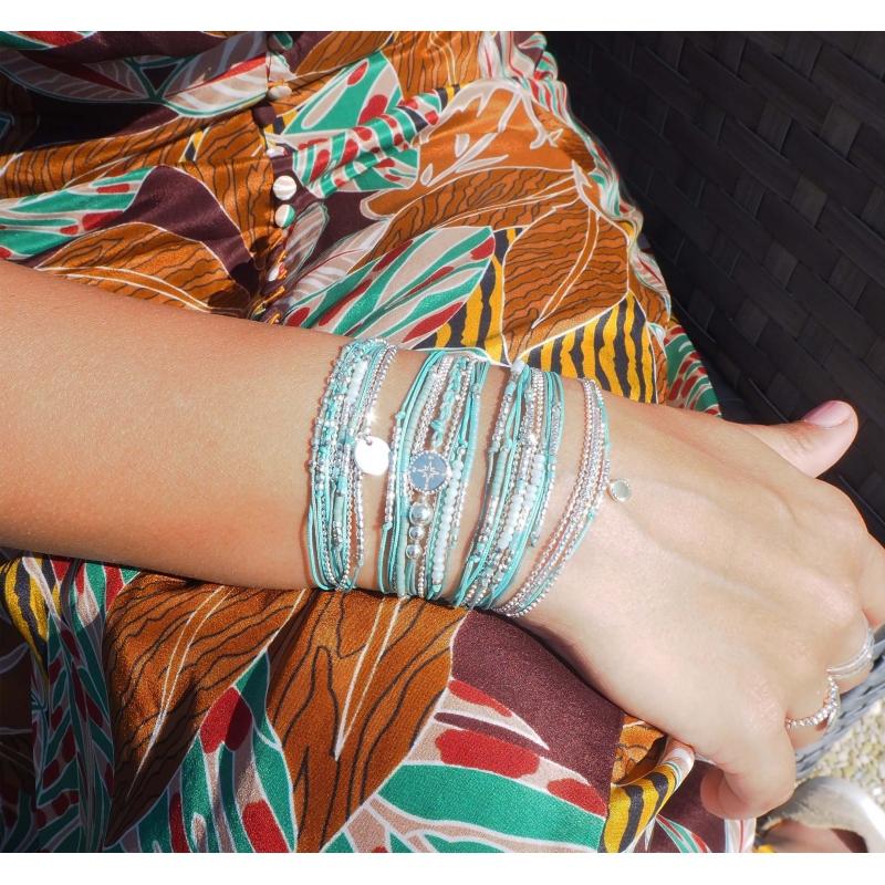 Bracelet multi-tours égérie...
