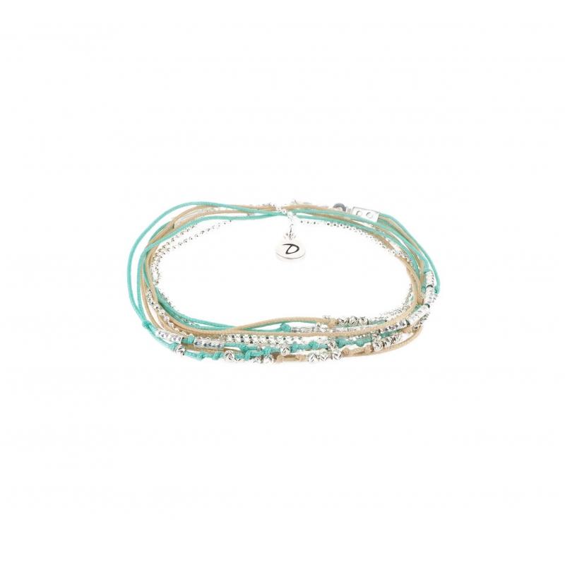Bracelet multi-tours wavy...