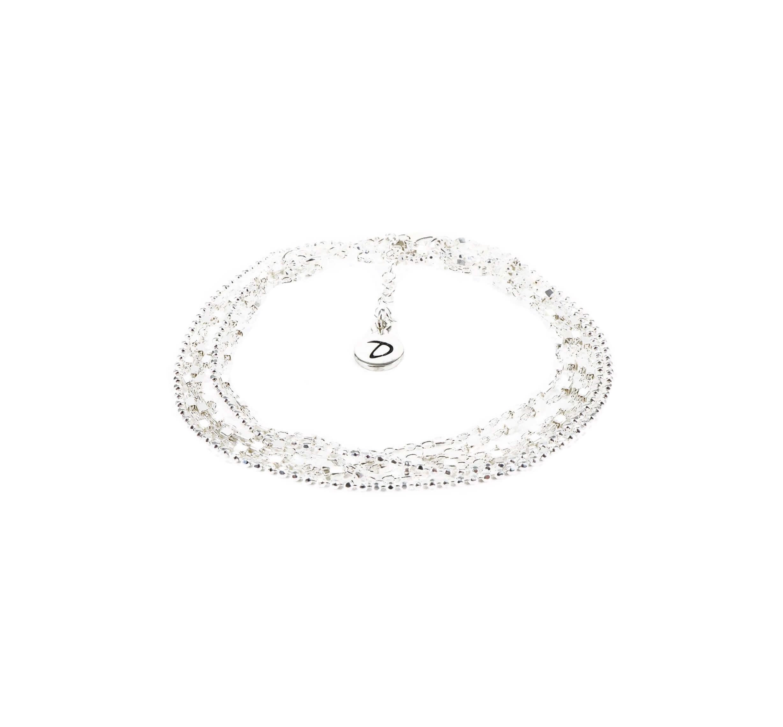 Bracelet chaîne double tours - Doriane bijoux