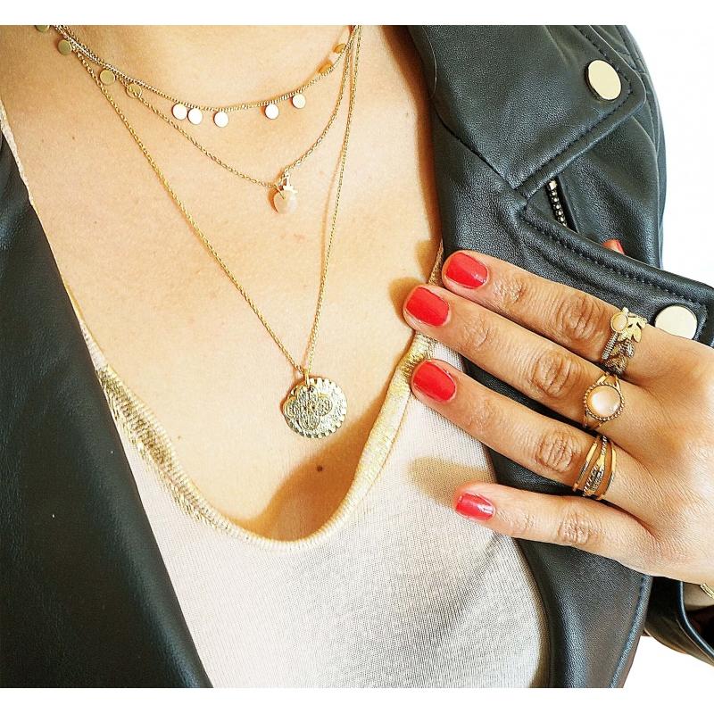 Stone polar orange gold...