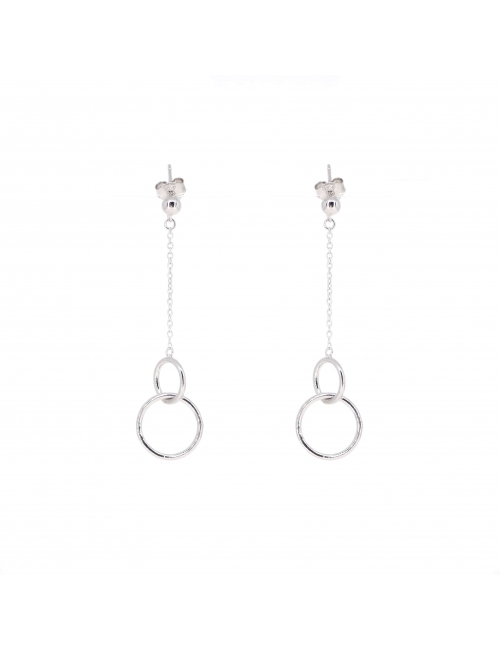 Double circle silver - Pomme Cannelle