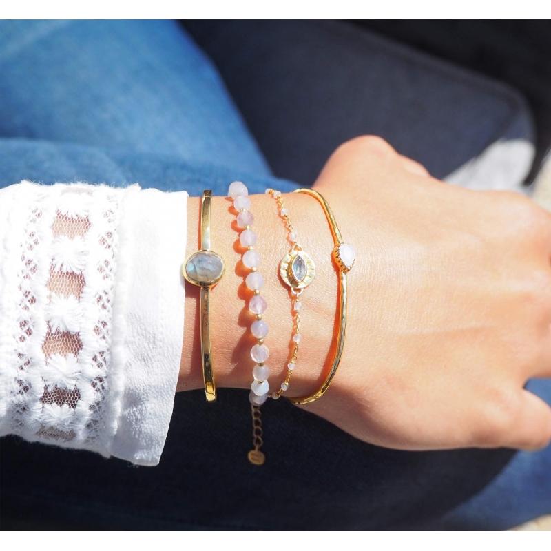 Bracelet pierres facettés...