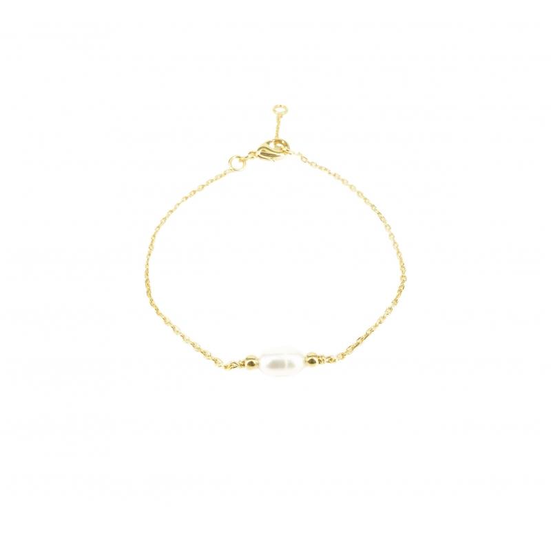Bracelet pépite de perle en...