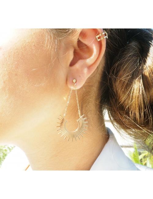 Bague d'oreille shiny star...
