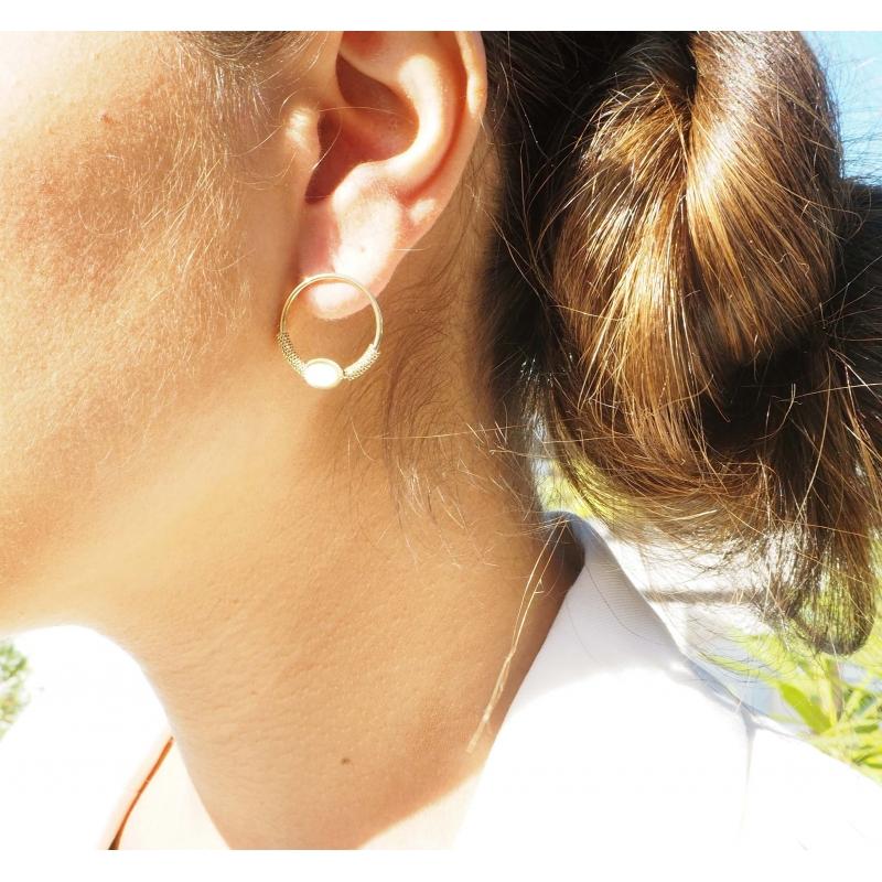 Boucles d'oreilles cercle...