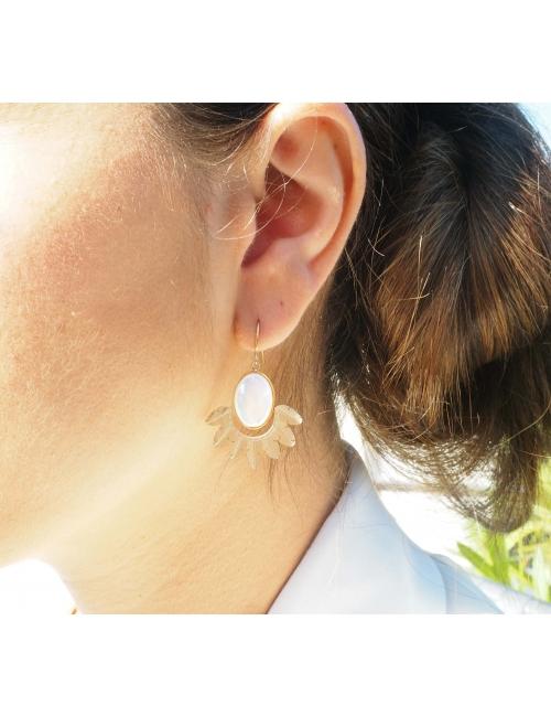 Boucles d'oreilles Palm...