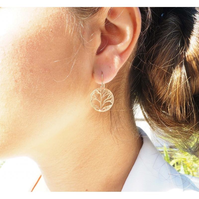 Boucles d'oreilles arbre de...