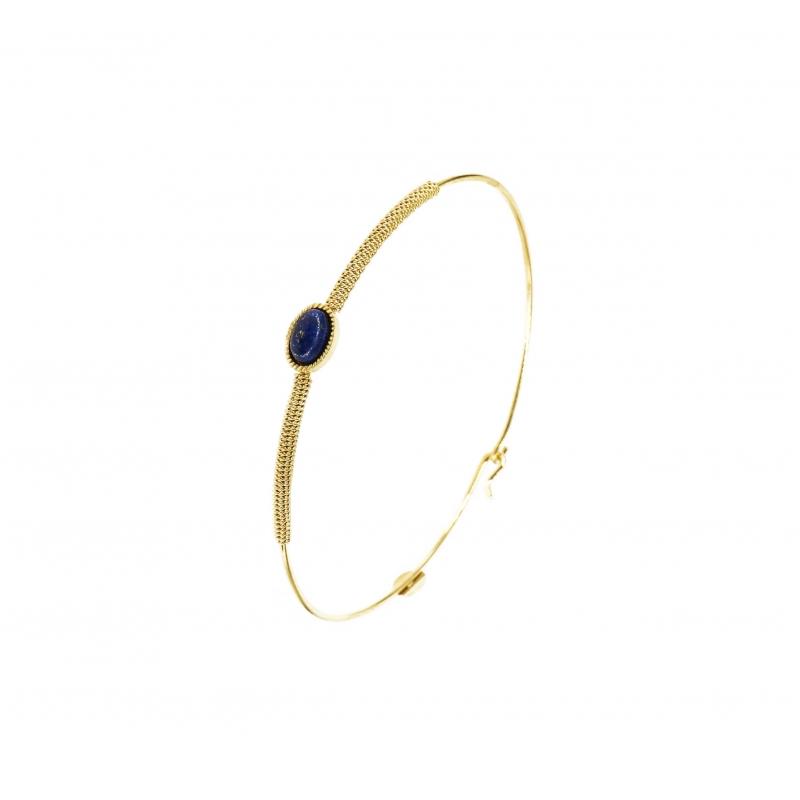Stone oval lapis lazuli...