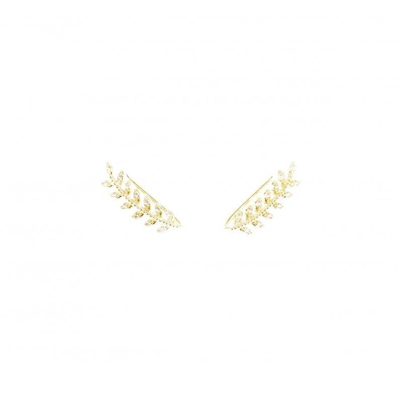 Bijoux d'oreilles lauriers...