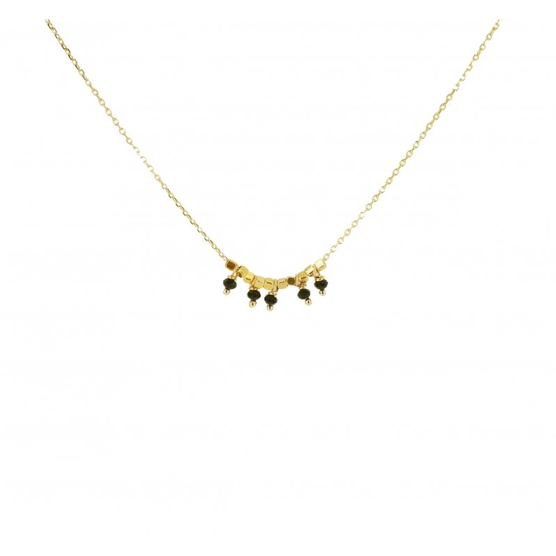 Collier pampilles onyx...