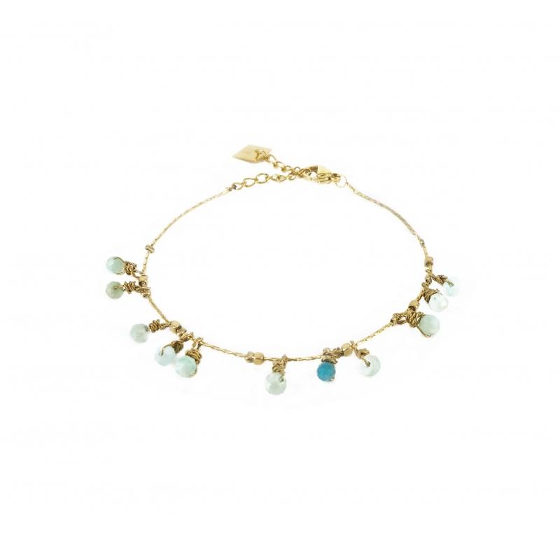 Bracelet pampilles stones...