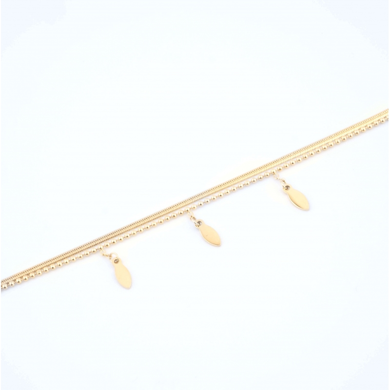 Bracelet Spica en acier or...