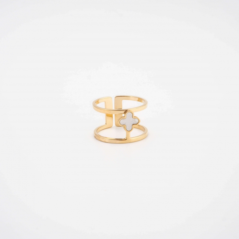 Bonnie bangle ring in gold...