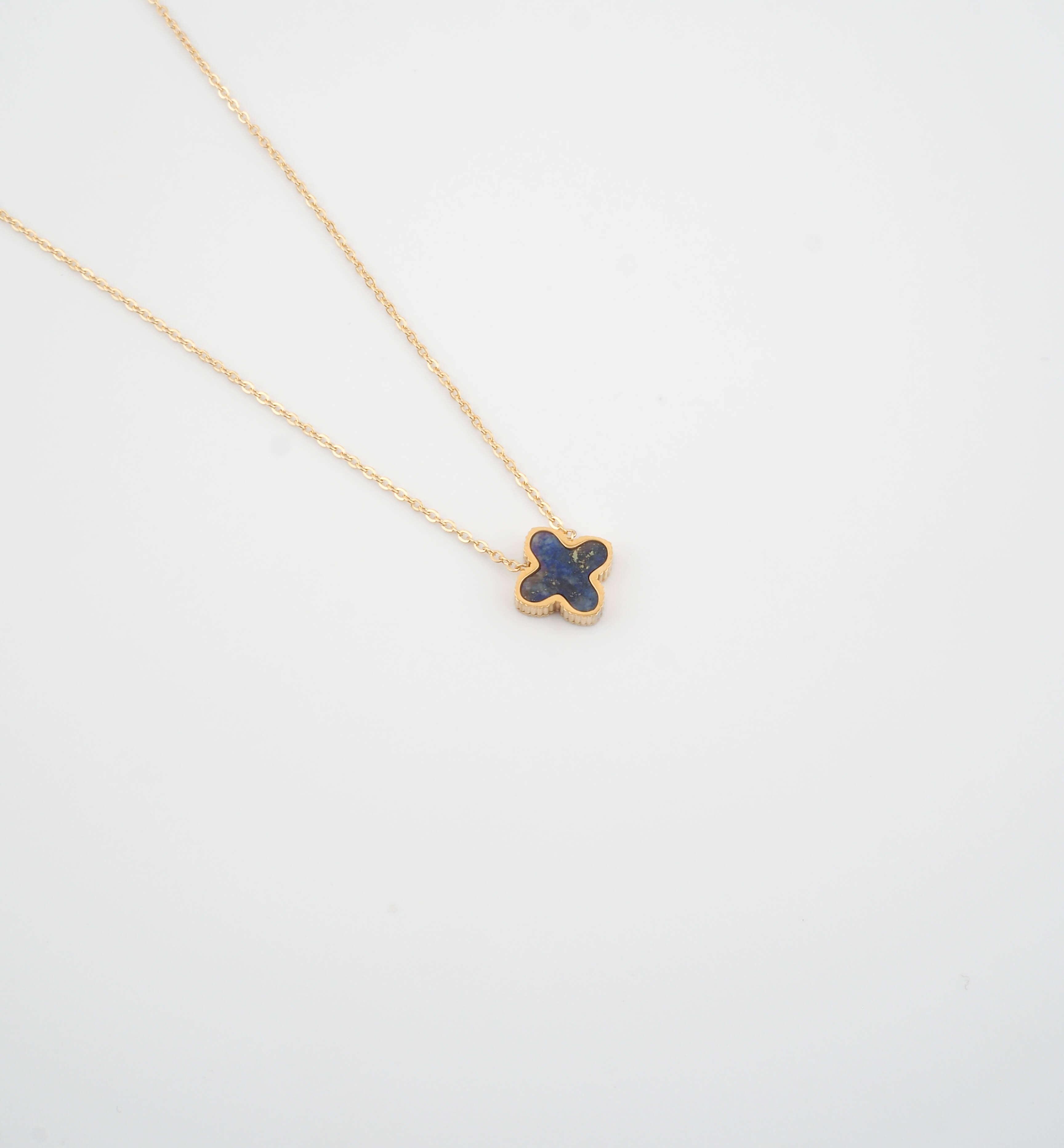 Collier Bonnie en lapis lazuli - ZAG Bijoux