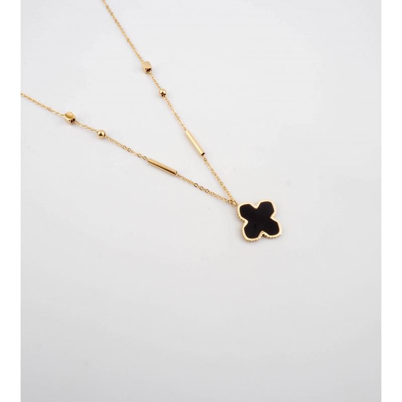 Bonnie XL gold necklace -...