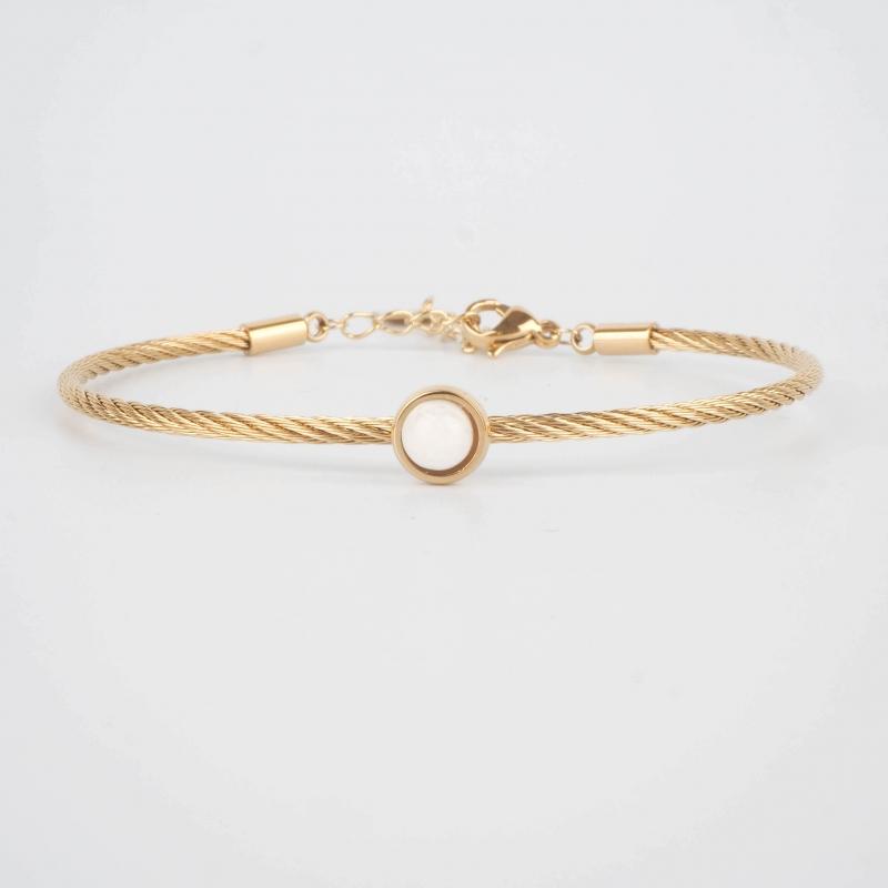 Bracelet jonc Calypso en...