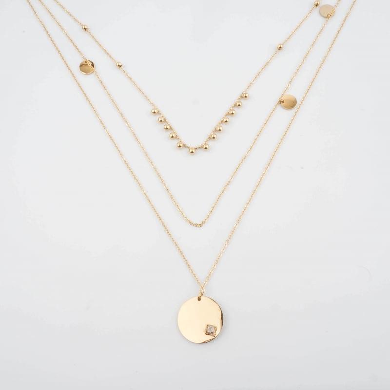 Melissa gold necklace - Zag...