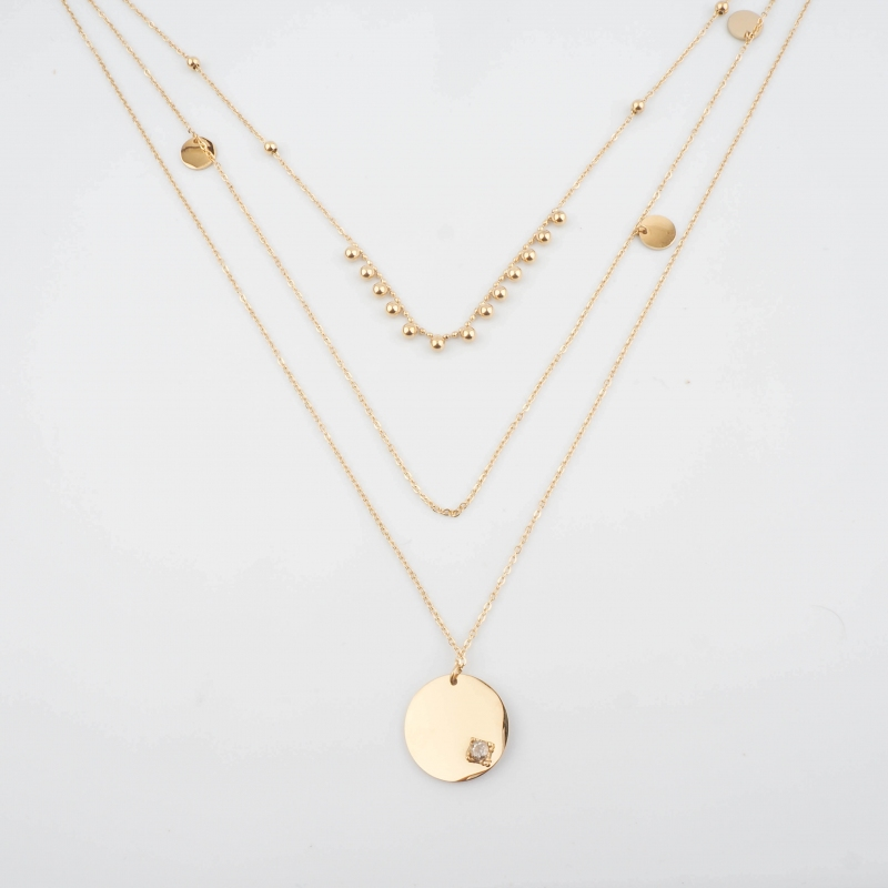 Melissa gold necklace - Zag...
